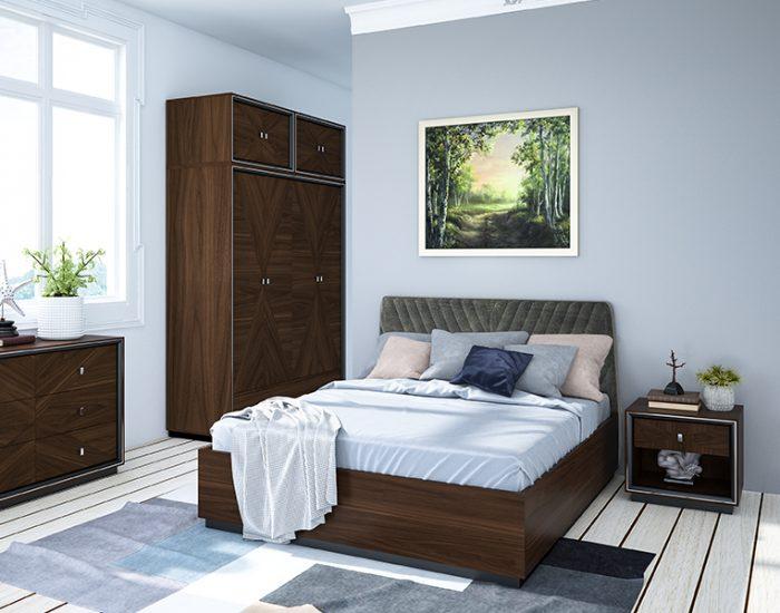 Tủ đầu giường Monaco BR - Gỗ Dẻ Gai Châu Âu