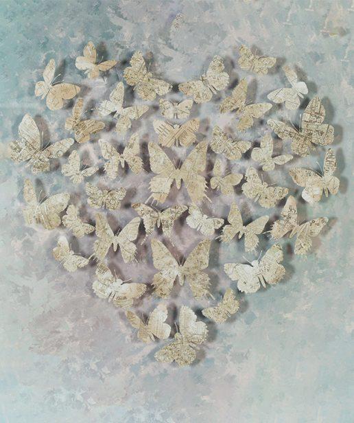 Tranh Butterflies In Heart