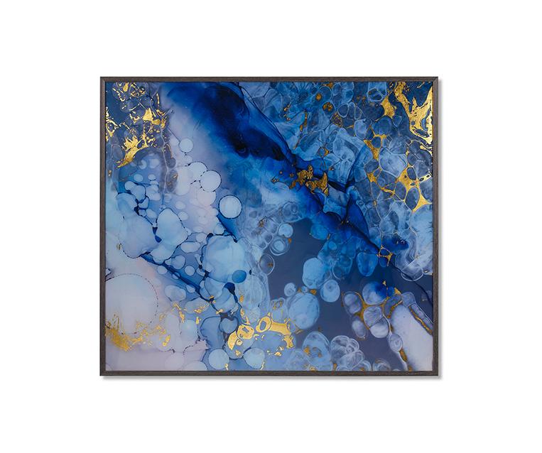 Tranh Blue Oil
