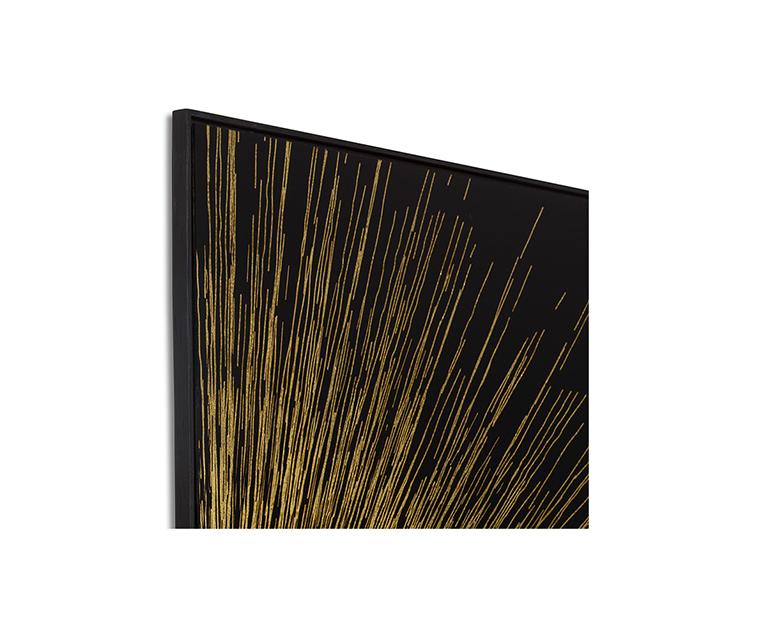 Tranh Gold Leaf Quadrant