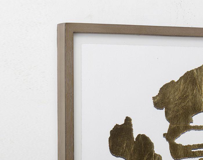 Tranh Gold Rorschach Print D