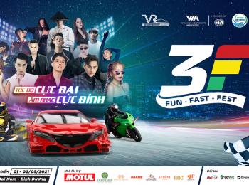 Đại lễ hội 3F – Nơi giới trẻ mãn nhãn với những màn đua xe tốc độ
