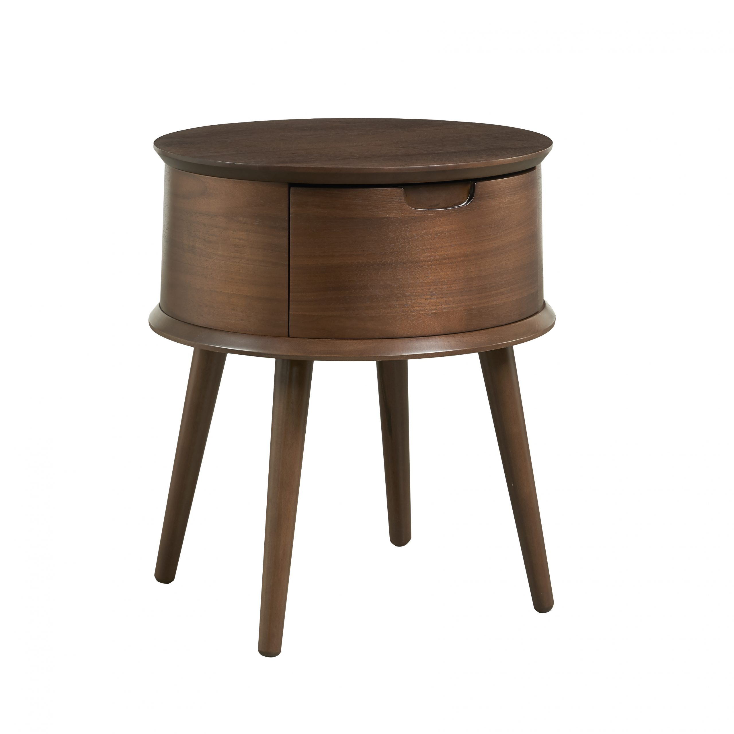 Tủ Đầu Giường Orbit Walnut - Gỗ Dẻ Gai