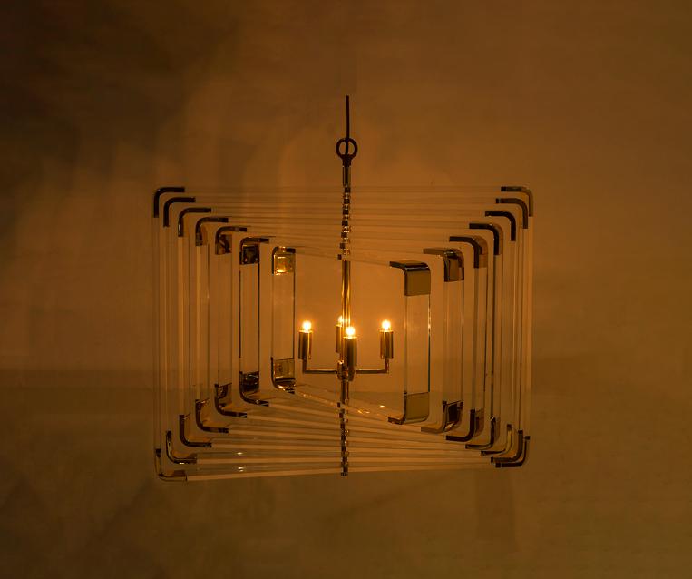 Đèn trần Spiral Acrylic