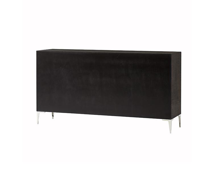 Tủ Ngăn Kéo Chloe Dark Dresser - 6 Drawer