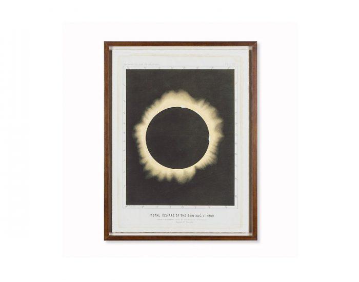 Tranh Eclipse Of The Sun Circa 1876