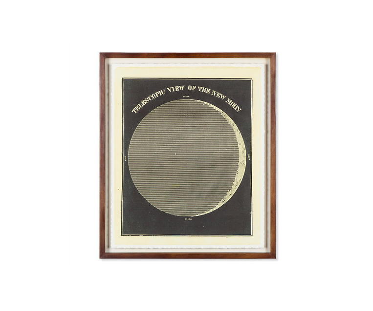Tranh Telescopic View Of The New MoonCirca 1872