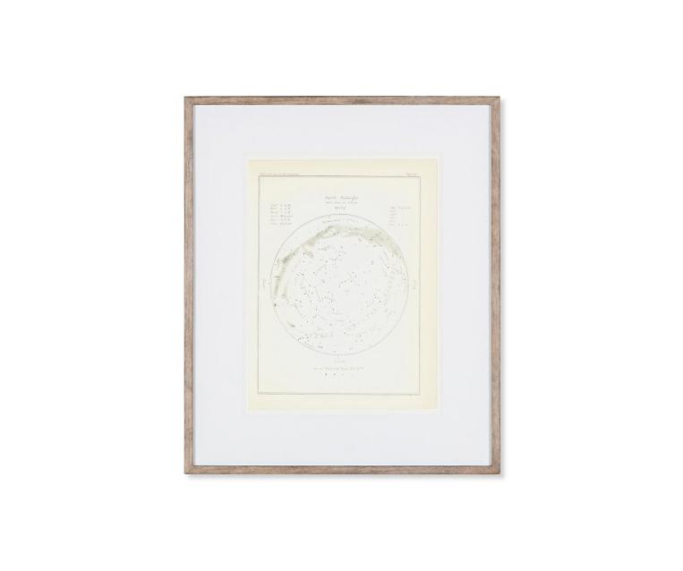 Tranh Atlas Of Astronomy Circa 1900