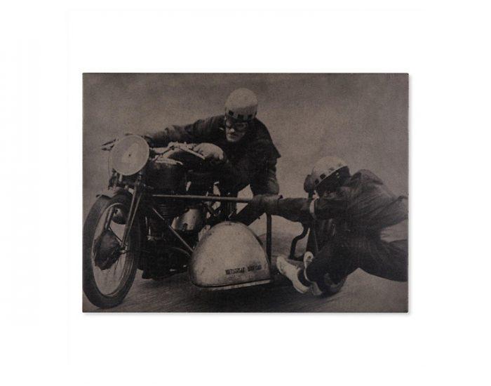 Tranh Vintage Athletes - Sidecar Racing