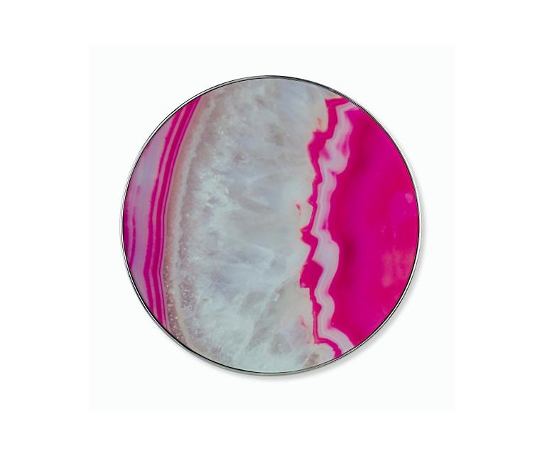 Tranh Geode Glass Print - Vừa