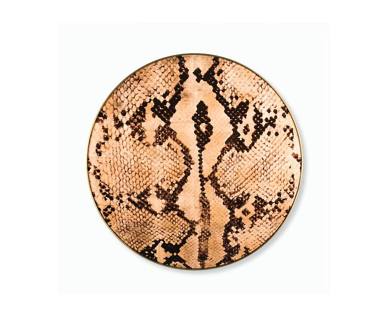 Tranh Copper Leaf Snake Skin