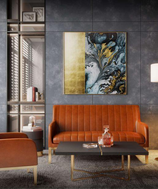 Carnelian Living Room