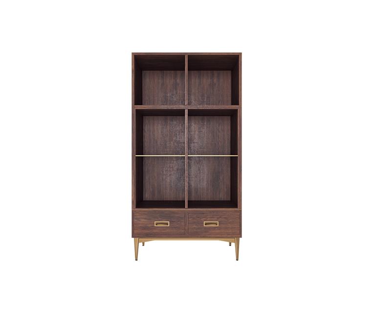 Tủ Cabinet Dominic - Gỗ Óc Chó Châu Phi