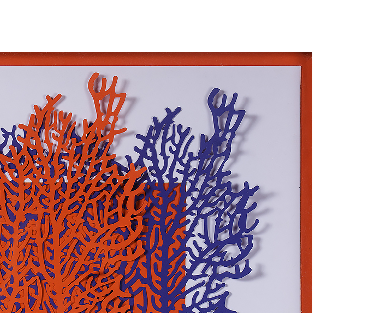 Tranh Red & Blue Coral