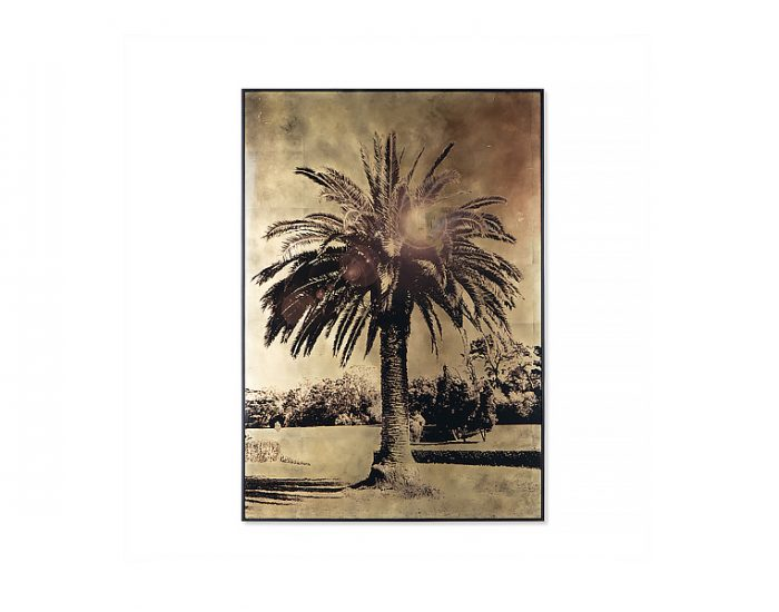 Tranh Gold Leaf Palm Tree