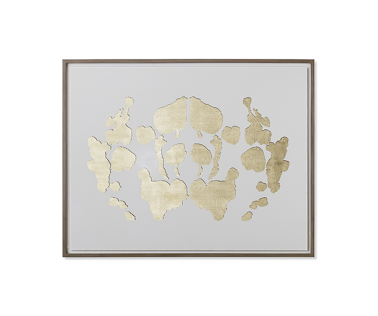 Tranh Rorschach Series Large - White - A